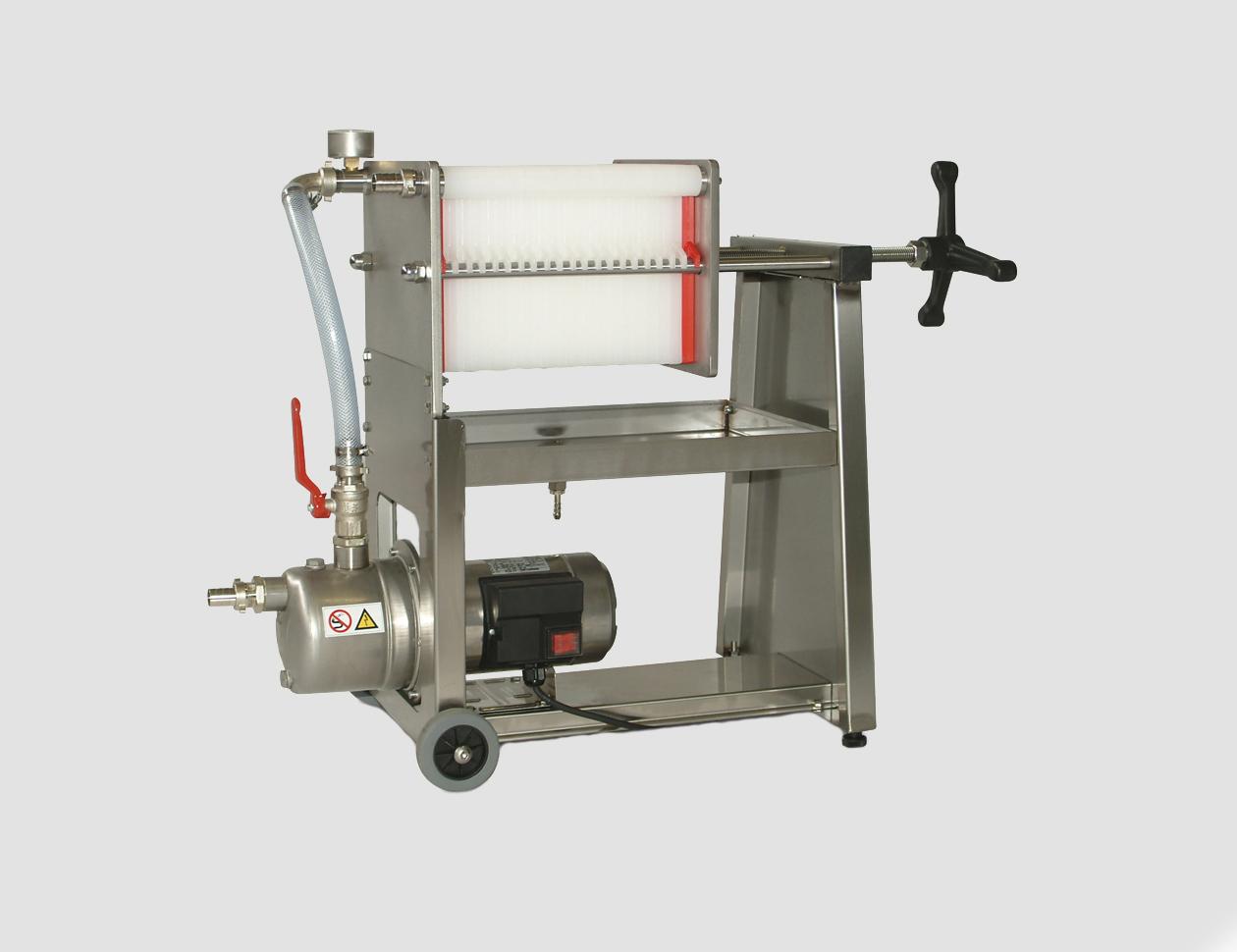 F10-20-30-40 inox con pompa inox