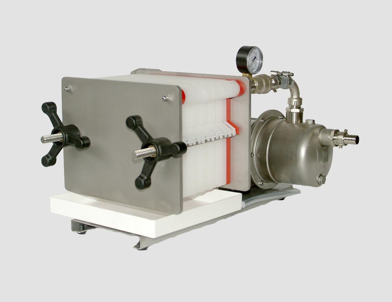 F8-10-14 inox con pompa inox